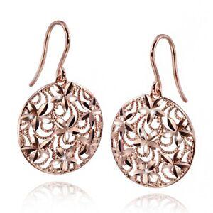 Das Bild wird geladen MATERIA-Damen-Ohrringe-Rosegold-Blumen-Silber-925 -SARA- b764343cd2