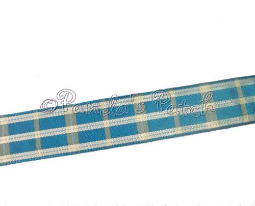 Berisfords Ruban tartan Regal 25mm ou 40mm-choisir couleur largeur et longueur