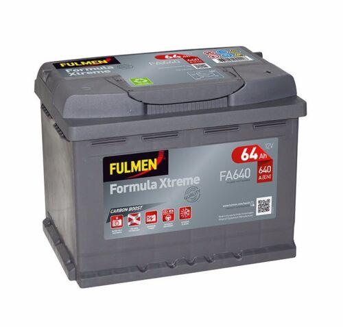 Batterie Fulmen FA640 12v 64ah 640A Varta D15-12V Livraison Rapide