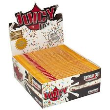 1 Pack - Juicy Jay's Birthday Cake Flavor Rolling Papers - King Size Supreme