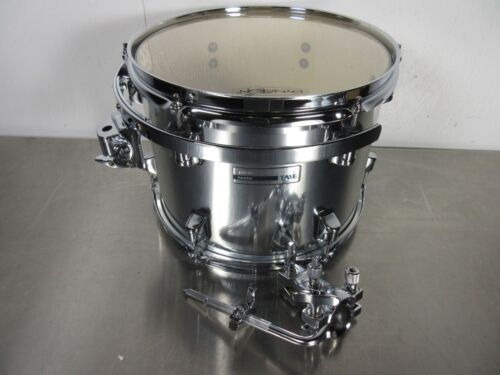 """12 X 9/"""" Chrome Comes With Tom Arm Taye Rock Pro Limited Edition Rack Tom"""