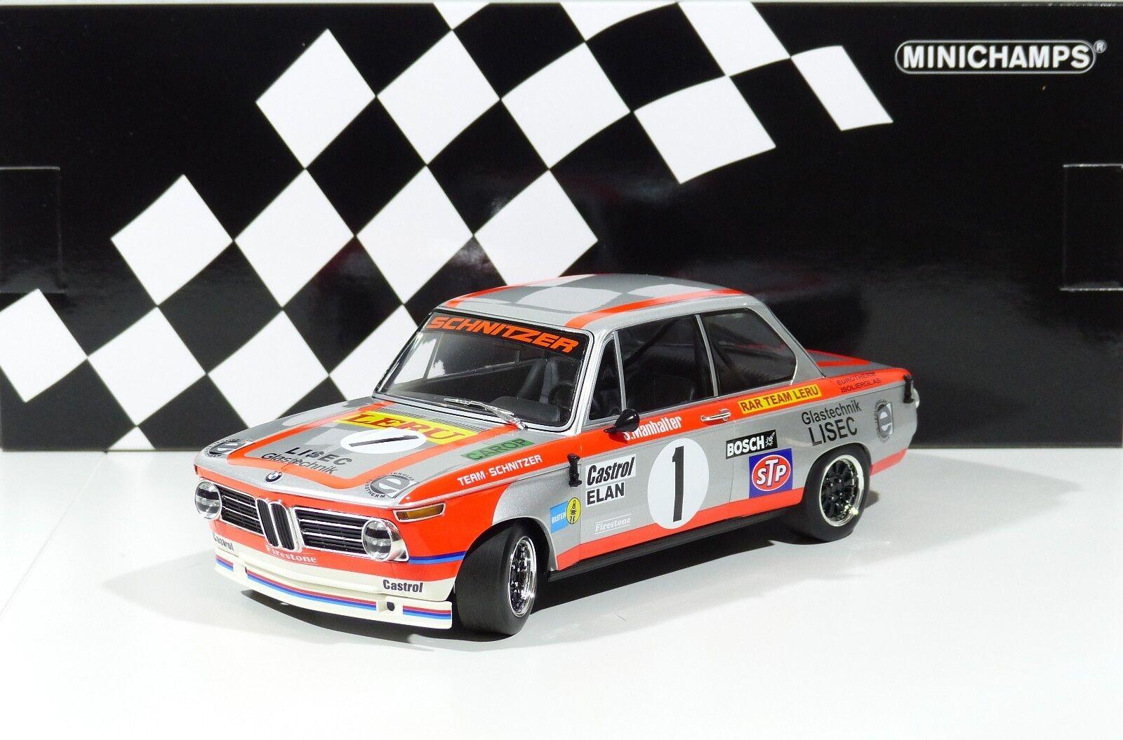 BMW 2002 RARE Team  1 hommehalter  Winner Austria sacue 1974 Minichamps 1 18 nouveau  présentant toutes les dernières mode de la rue haute