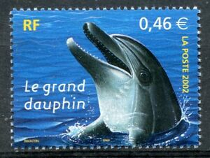 STAMP-TIMBRE-FRANCE-NEUF-N-3486-FAUNE-GRAND-DAUPHIN