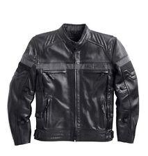 Harley Davidson Men's Triple EVOLUTION Leather Jacket Waterproof 98068-14VM M