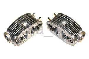 Cylinder heads aluminum (LEFT, RIGHT) with valves assembly IMZ URAL 650cc. NEW!