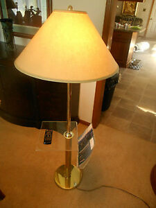Mid Century Modern Lucite Acrylic Magazine Rack Floor Lamp Table Ebay