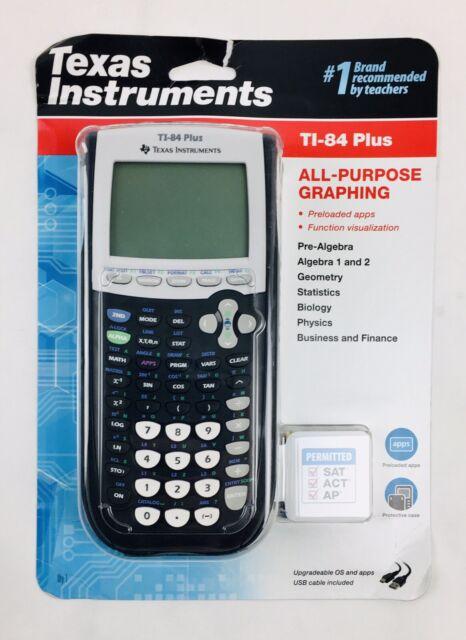 Texas Instruments - TI-84 Plus All Purpose Graphing Calculator - Black - NEW!