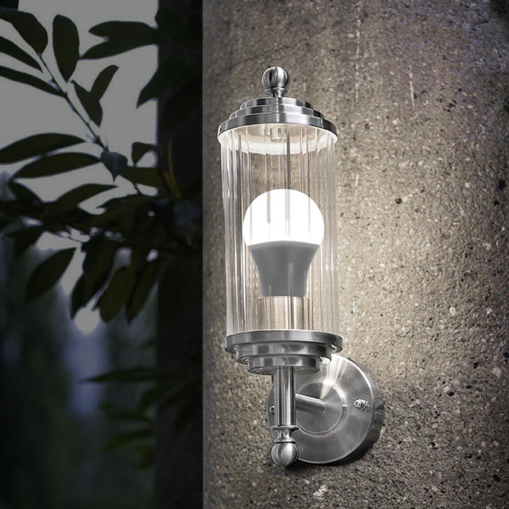 Old Room At Dusk: Dusk Till Dawn Sensor 9W LED Light Bulb B22 Or E27 A60