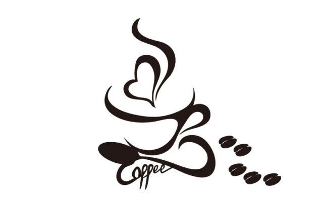 Wandtattoo Kaffee, S cafe,Wandtatoo,SA78 Wandaufkleber