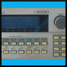 Akai S1000 firmware OS upgrade: version 4.4