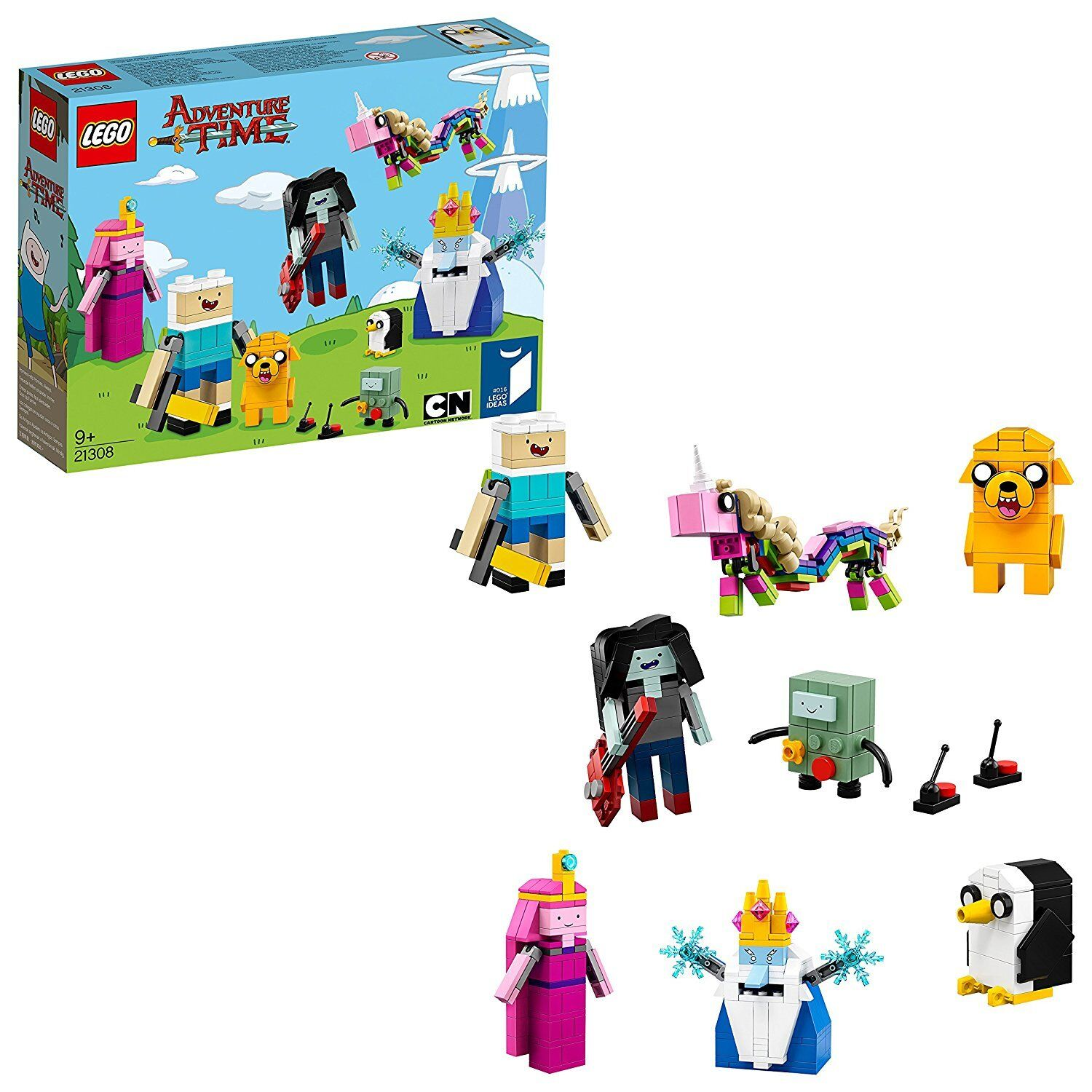 LEGO 21308 Adventure Time Toy Creative Role-Playing Minifugures Set with Fi...