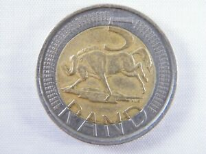 Moneda-South-Africa-5-Rand-Bimetalicos-2009-World-Coins