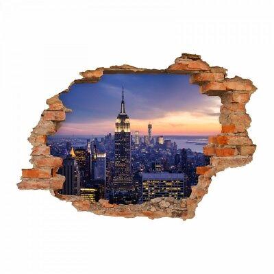Decals Stickers Vinyl Art Loch In Der Wand Wohnzimmer Deko World Trade Center 150 Wandtattoo New York Home Garden Mouans Sartoux Randonnee Montagne Asso Fr