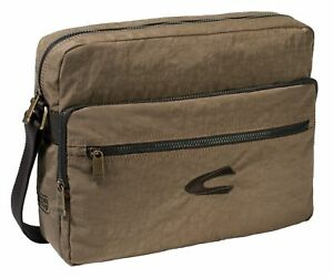 camel active Journey Shoulderbag Laptoptasche Umhängetasche Tasche Sand Braun