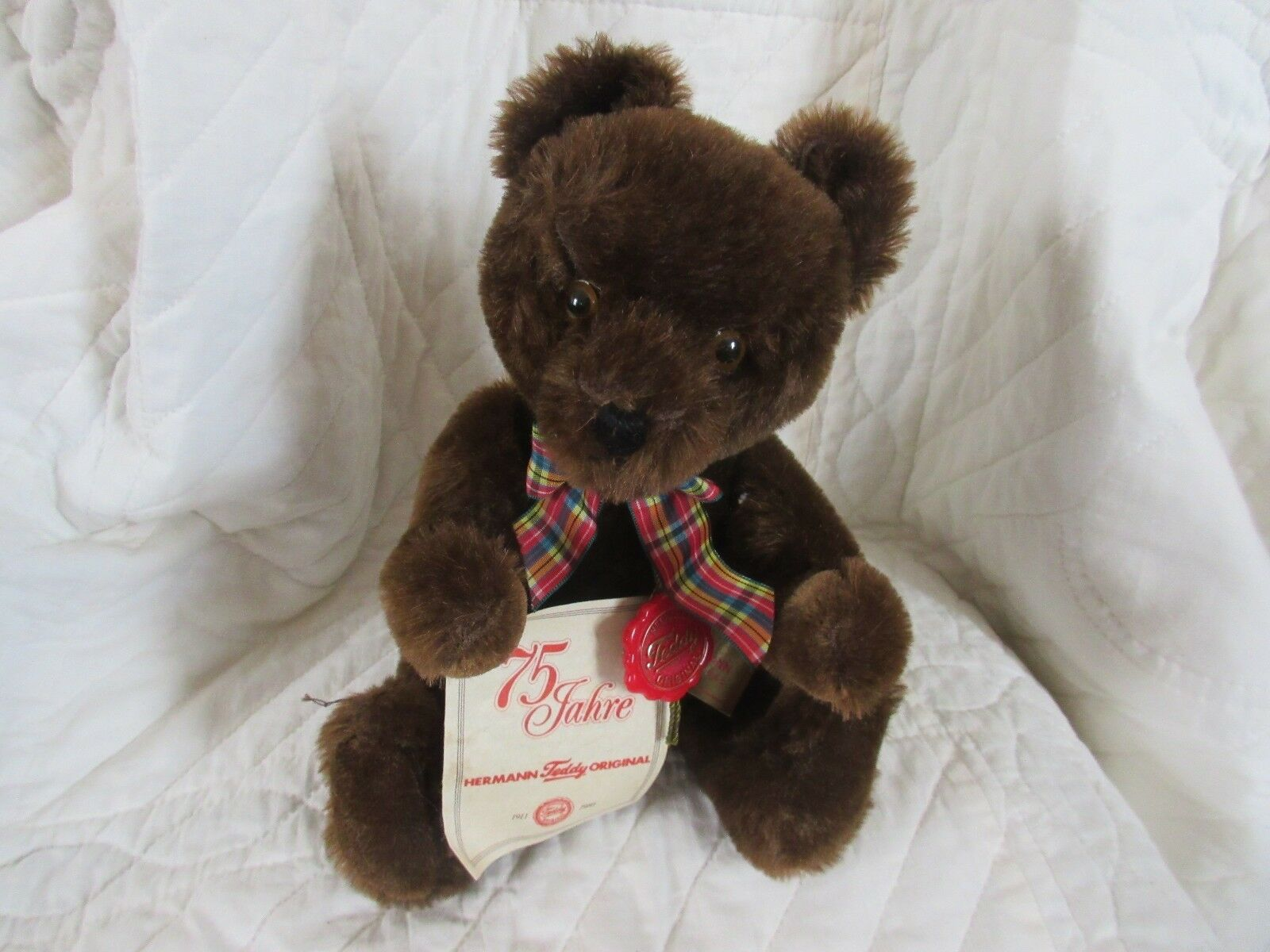 Hermann Teddy Original 75th anniversary 1986