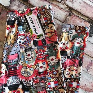 6b5442657 Image is loading New-Halloween-Monster-Mash-Vampire-Zombie-Leggings-for-