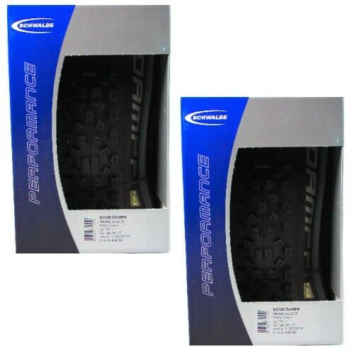 X2 Schwalbe  Bicycle Tire Hans Dampf 60-559 26x2.35 Folding Bead Dual 23-50psi...  online sales