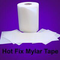 Mylar Hotfix Rhinestones Rhinestuds Transfer Film - Iron On - 9.5 X 50 Feet :)