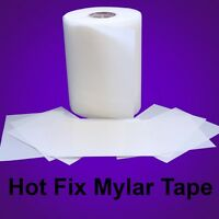 Mylar Hotfix Rhinestones Rhinestuds Transfer Film - Iron On - 9.5 X 50 Feet :)