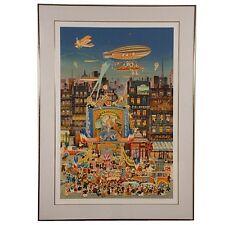 """""""Sorcier D'Oz"""" by Hiro Yamagata Silkscreen w/ Foil Stamp Wove Paper 158/300"""