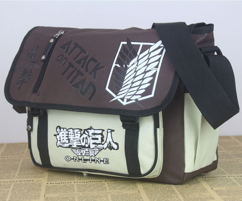 DZ800 Attack on Titan 8 pcs Character Metal Keychain Collection In Box#