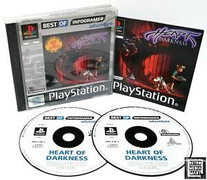 Herz-der-Finsternis-ps1-Sony-Playstation-ps1-PAL-Spiel-sehr-gut-komplett