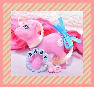 ❤️My Little Pony MLP G1 Vtg BABY Tiddly Winks Tiddley-Winks Nursery Pony NBBE❤️