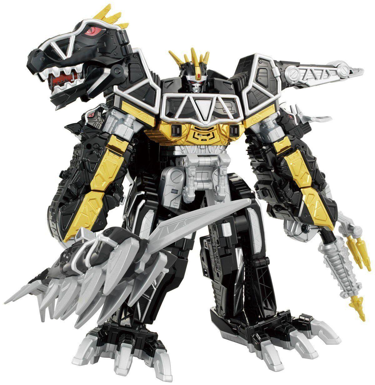 BANDAI DX Kyoryuzin Dark Version Megazord Power Rangers Zyuden-Sentai Kyoryuger