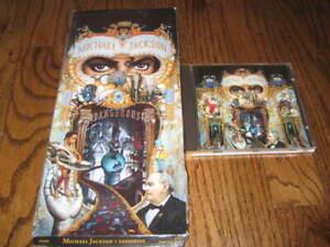 Michael Jackson Dangerous  longbox and Original cd! Rare!