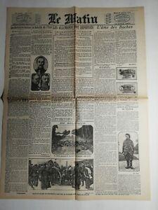 N469-La-Une-Du-Journal-Le-Matin-27-octobre-1914-les-Allemands-sont-repousses