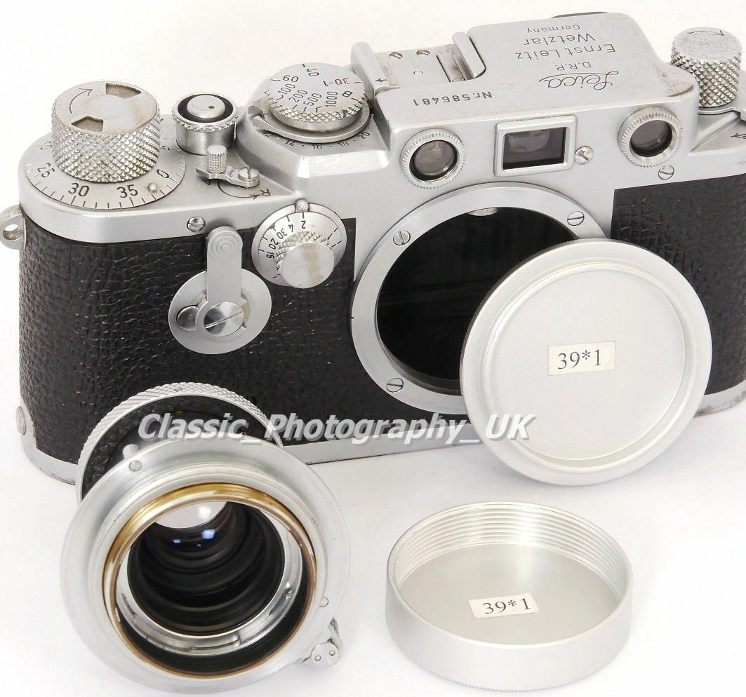 LEICA LTM Rear Lens Cap for SUMMILUX Summicron + L39/LTM Body Cap LEICA 3C 3D 1g