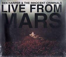 BEN HARPER & THE INNOCENT CRIMINALS : LIVE FROM MARS / 2 CD-SET - NEU