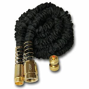 150-FT-Feet-Heavy-Duty-Expanding-Garden-Flexible-Water-Hose-Brass-Spray-Nozzle