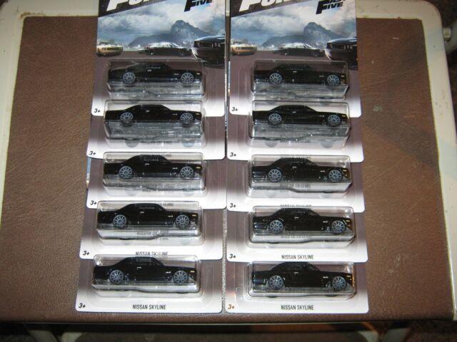 Lot Of 10 = Hot Wheels Fast & Furious = 1971 JDM Nissan Skyline GT-R