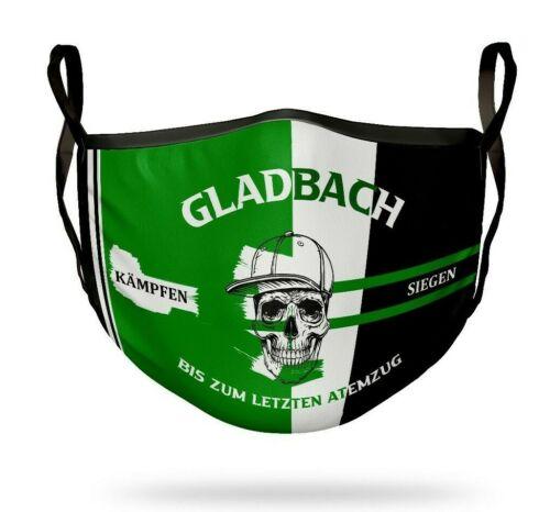 Borussia-Mönchengladbach Mund Nasen Maske Mundbedeckung Behelfsmaske Fan-Artikel
