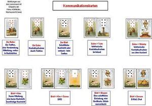 Lerntafel-Lenormand-Kommunikationskarten-Lenormandkarten-Karten-legen
