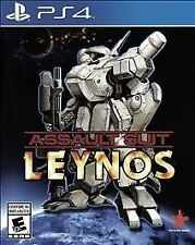 Assault Suit Leynos - PlayStation 4 Brand New Ps4 Games Sony Factory Sealed