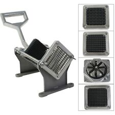 Potato French Fry Fruit Vegetable Cutter Slicer Commercial Quality W 4 Blades