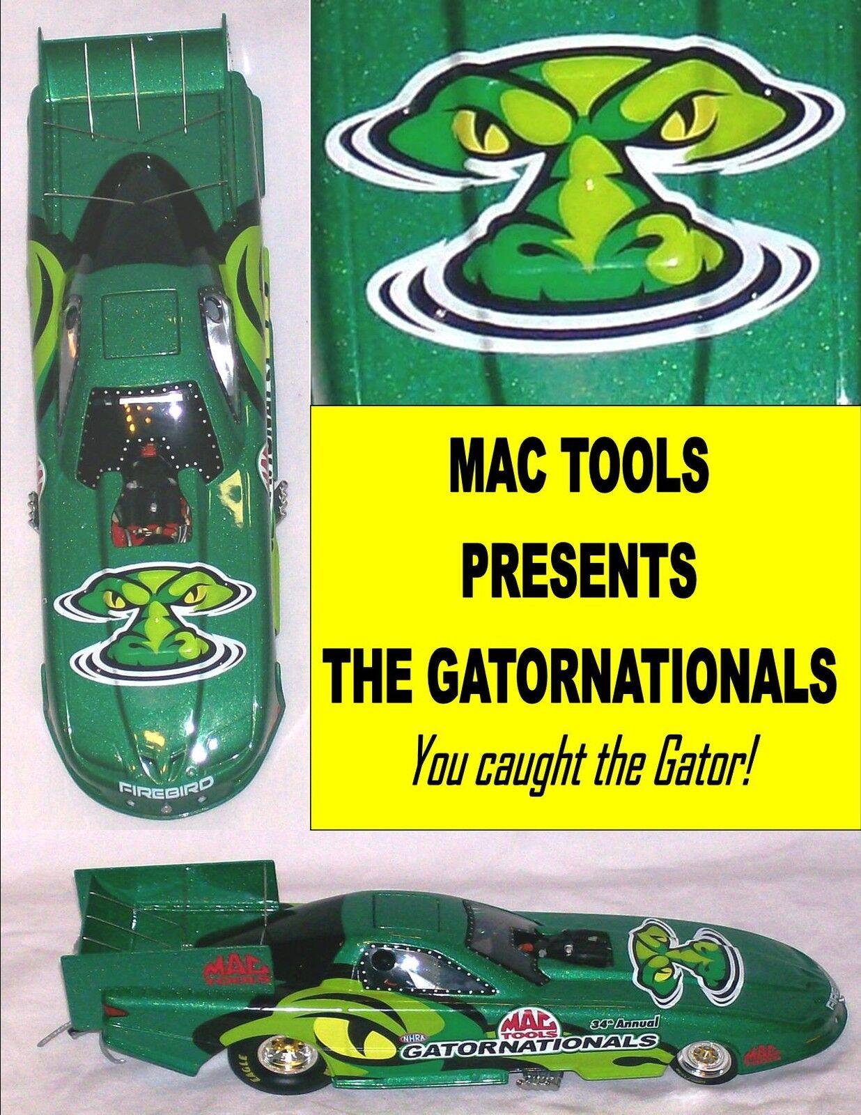 salida Asociación Nacional de Hot Hot Hot Rod Diecast 2003 34th Coche Diverdeido anual gatornationals 1 24 Modelo Con Caja Raro Conjunto  calidad oficial
