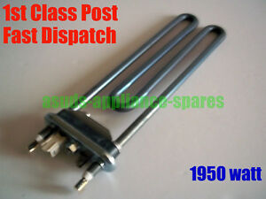 ZANUSSI WASHING MACHINE HEATER ELEMENT 1950w ZWD14581S ZWF10070W1 ZWF12370W