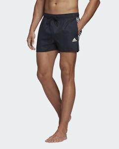 Adidas-Costume-da-Bagno-pantaloncini-3S-CLX-SH-VSL-mini-shorts-Blu