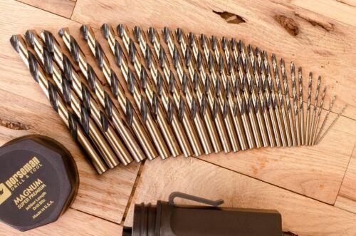 "13//32/"" 05800 Norseman 6-PACK Viking USA Drill Bit Super Premium High Speed"