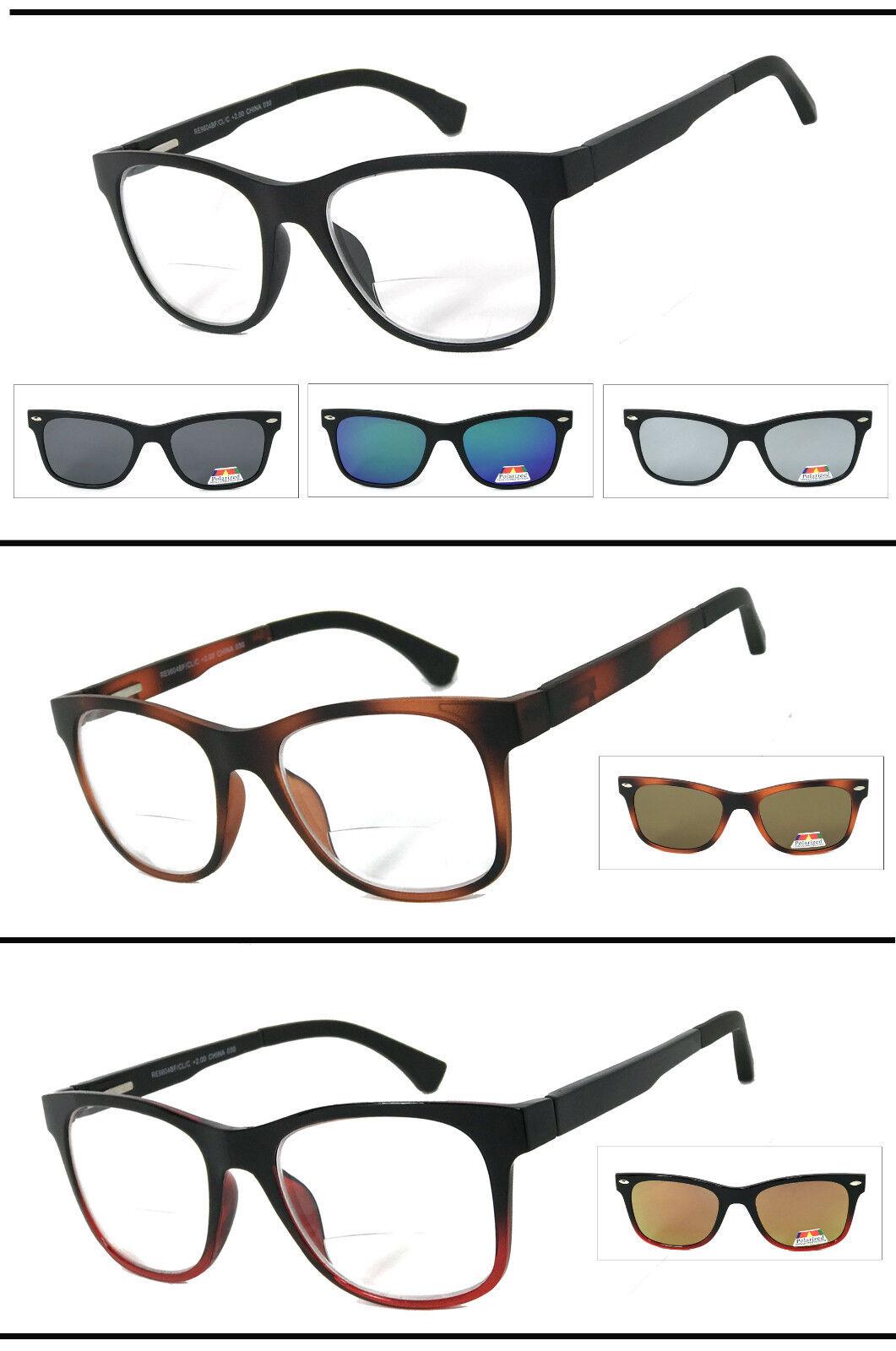 bifocales Gafas Gafas de Lectura para hombre magn/ético con sol Clip