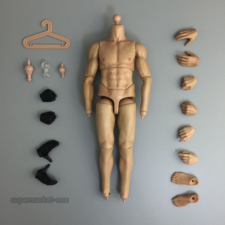 KODOXO 1/6 Scale Male Action Figure Body Man Strong Body
