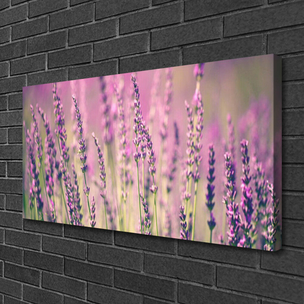 Canvas print Wall art on 100x50 100x50 100x50 Image Picture Flowers Floral 64bd0e