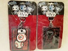 Finex Set of 2 STAR WARS Kylo Ren BB-8 Droid Toothbrush Holders with Suction Cup