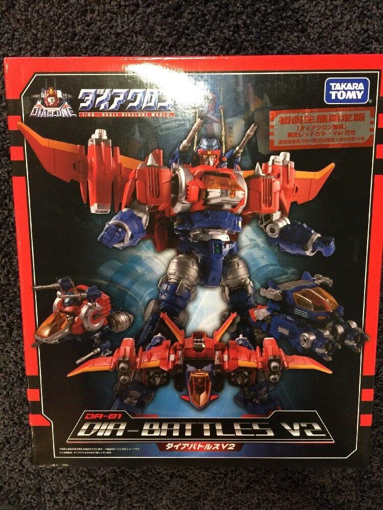 100% Legit Legit Legit Transformers Takara Tokyo Show Diaclone Diabattles V2 DA-01 Limited e3f5ac