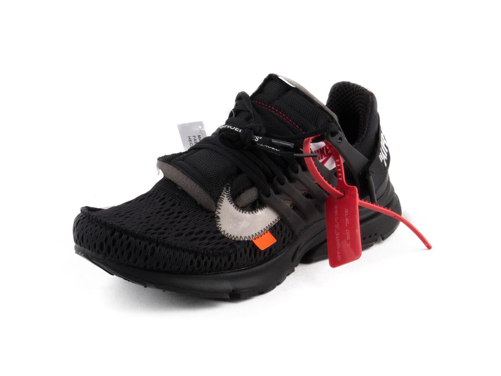 Nike Mens THE 10  Nike Air Presto Black White-Cone AA3830-002