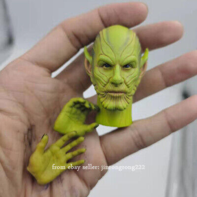 "Toys ERA 026 1//6 Captain Marvel Skrull Talos Head Sculpt Fit 12/"" HOT TOYS"