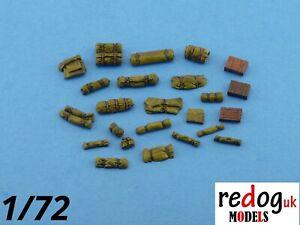 1-72-ou-1-76-Militaire-Modele-a-l-039-echelle-arrimage-diorama-accessoires-kit